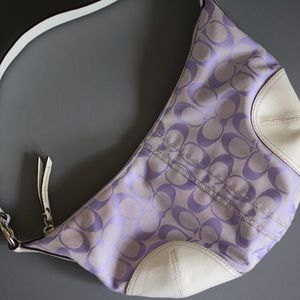 Purple COACH Handbag